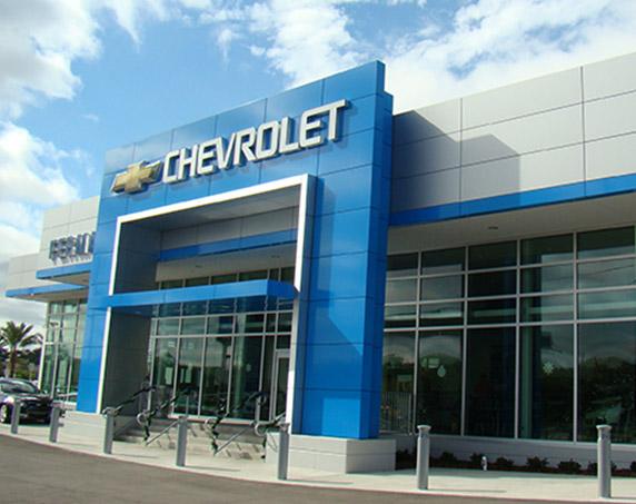 Exterior entrance view at Ferman Chevrolet