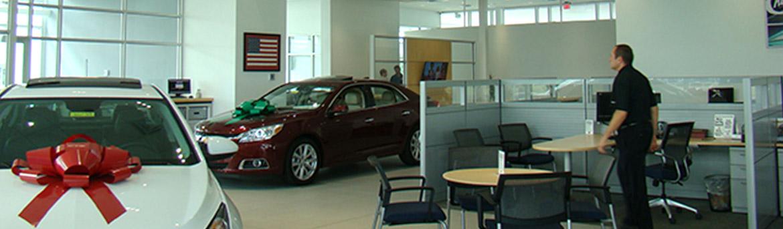 Interior showroom at Ferman Chevrolet
