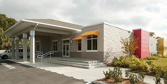 Main entrance to PAR COSA