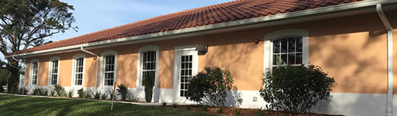 Side exterior of House of Prayer Retreat