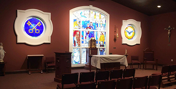Chapel at House of Prayer Retreat