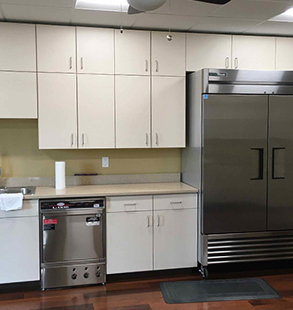 House of Prayer kitchen