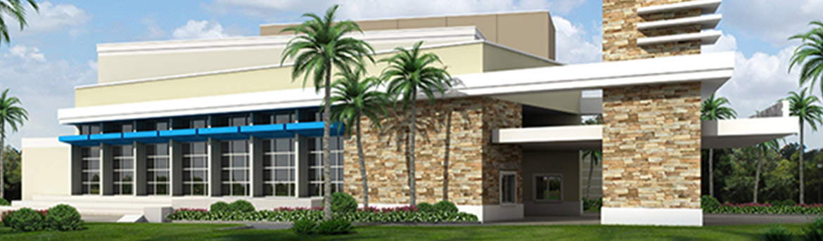 Exterior view of Kings Academy Performing Arts Center