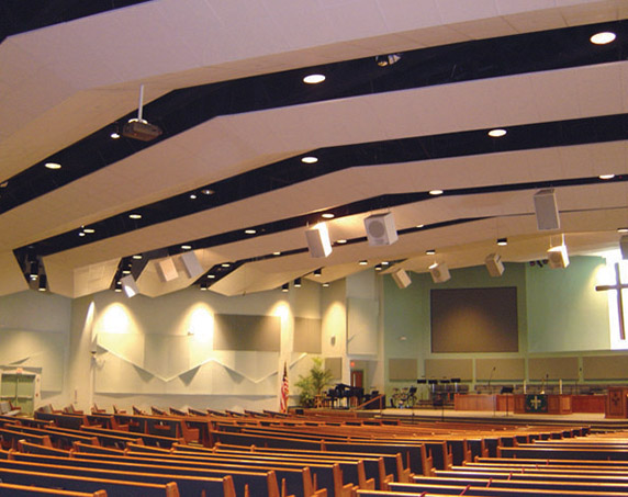 Interior Chapel at Palm Harbor United Methodist Church