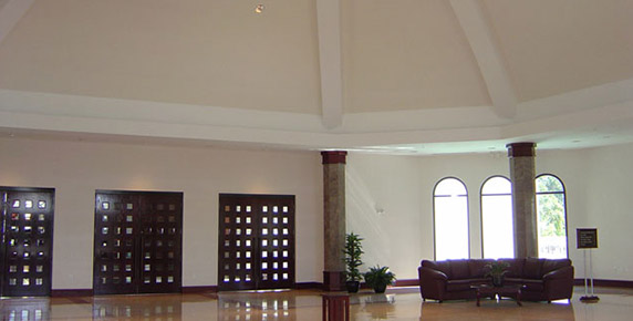 Interior of St Timothy Church