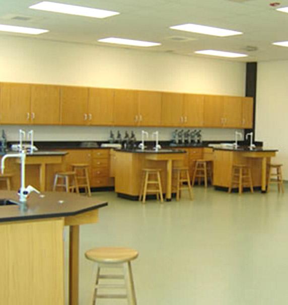 Science lab at Tampa Catholic