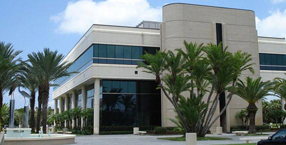 Exterior of Crum building