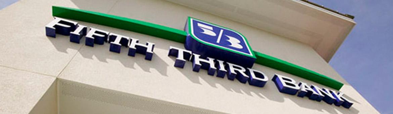 Fifth Third bank sign