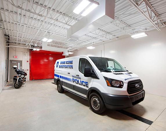 Garage at Groveland Public Safety Complex