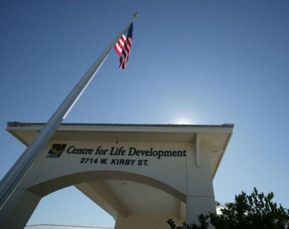 Center for Life Development sign