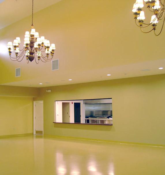 Ballroom at HARC's Center for Life Development
