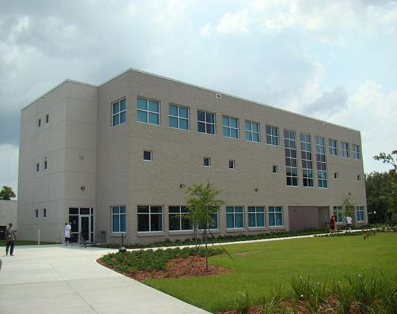 Rear exterior PAR building