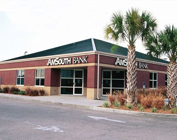 Amsouth building in Tampa