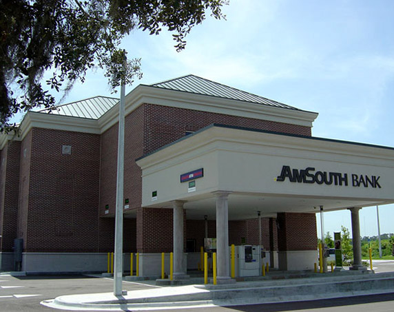 Amsouth building in Riverview