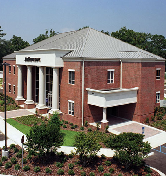 Amsouth building in Tallahassee