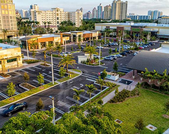 Aventura shopping center in Aventura, Florida