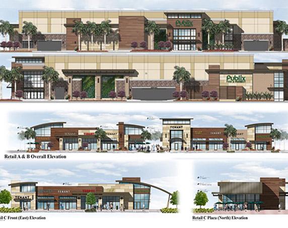 Digital rendering of Aventura Shops