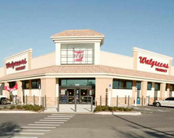 Walgreens storefront at Village Shops at Bellalago