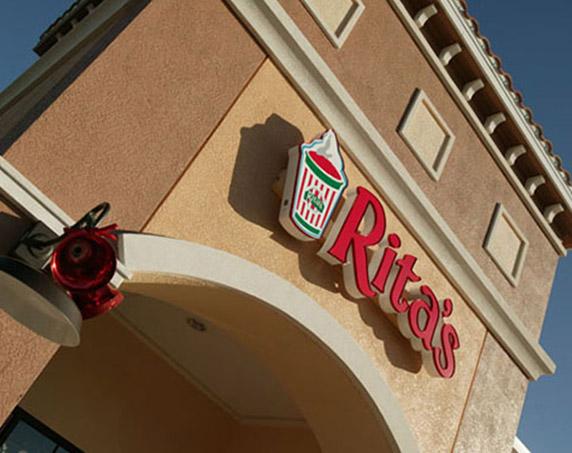 Rita's storefront at Village Shops at Bellalago