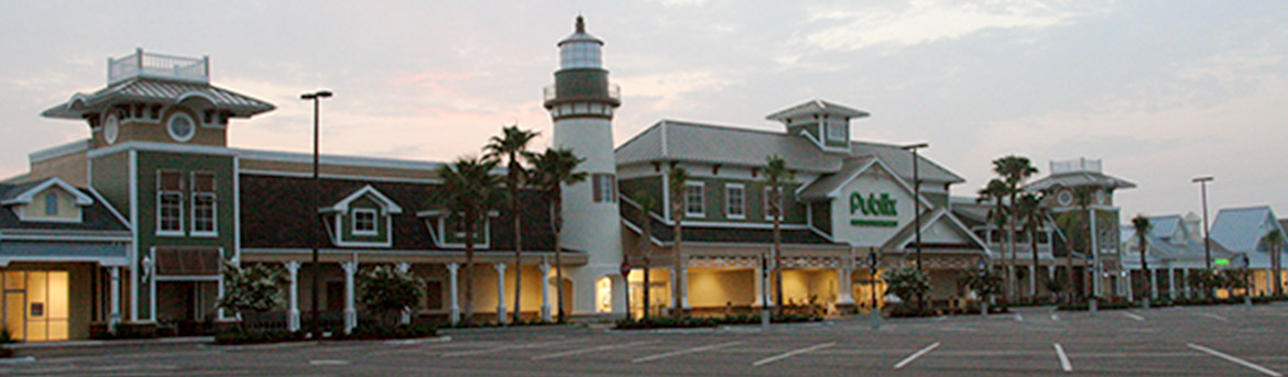 Colony Plaza shopping center at The Villages