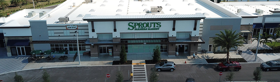 Exterior of Sprouts building at Logans Landing