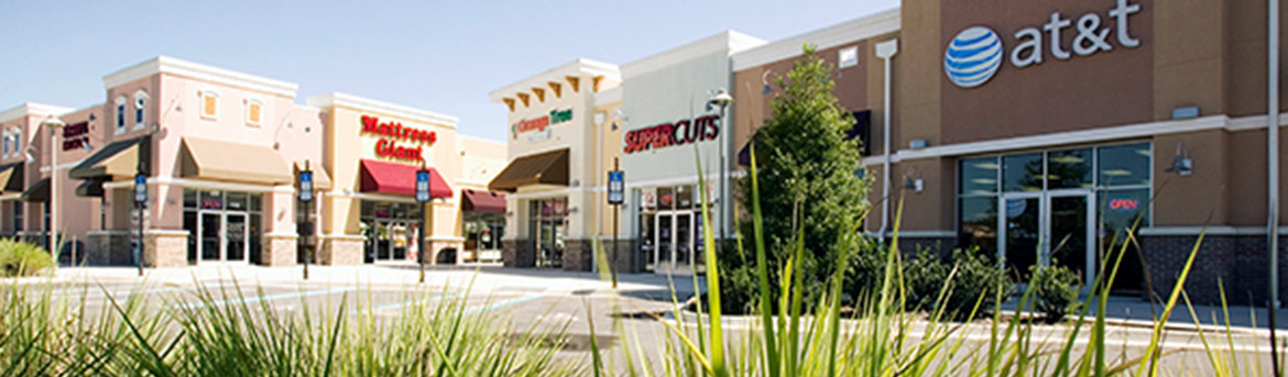 Exterior view of Super Cuts building at Oakleaf Town Center