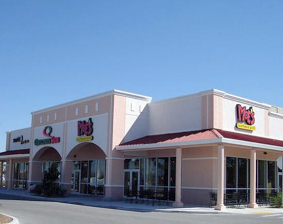 Moe's storefront at The Promenade at Naples