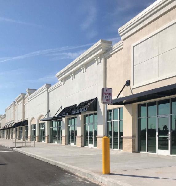 Storefronts at Bartram Market