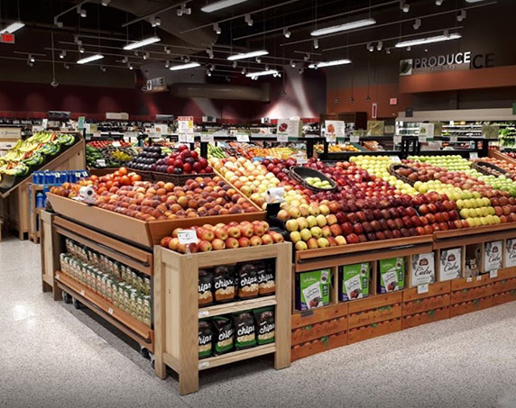 Interior product department at Publix at Downtown Doral
