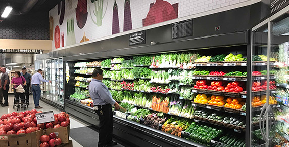 Produce department at Publix GreenWise in Boca Raton