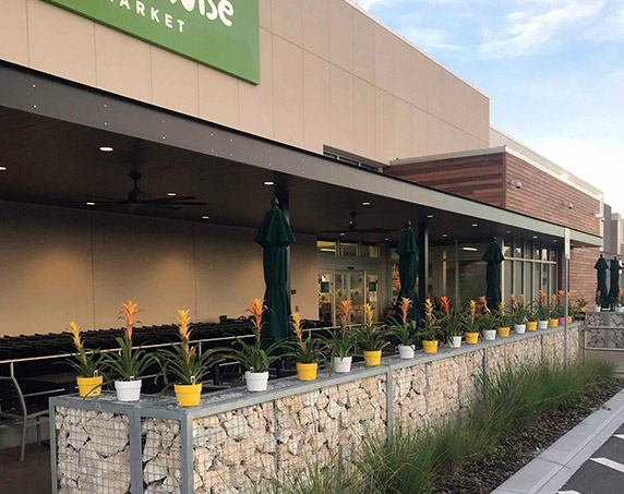 Entrance area at Publix GreenWise