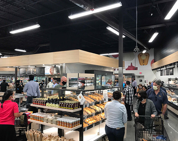 Bakery area at Publix GreenWise in Odessa