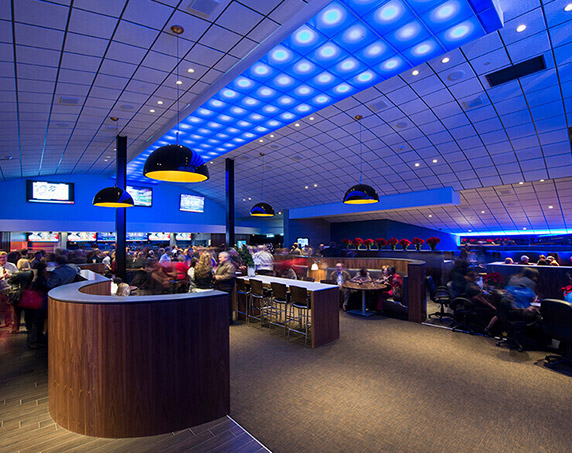 Interior at Studio Movie Grill in Kissimmee
