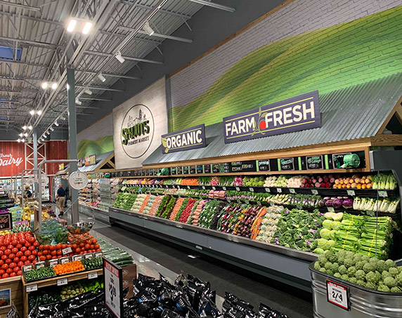 Produce department at Sprouts Farmers Market