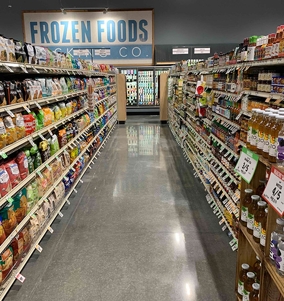 Frozen food department at Sprouts Farmers Market