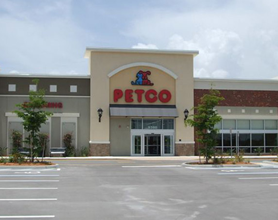Petco storefront at The Forum at Fort Myers