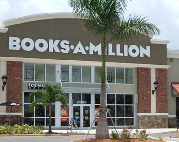 Books -A-Million storefront at The Forum at Fort Myers