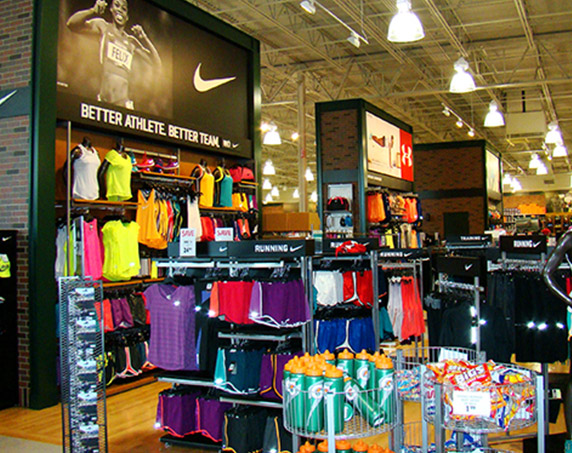 Interior of Dick's Sporting Goods at The Plaza at Coral Springs II