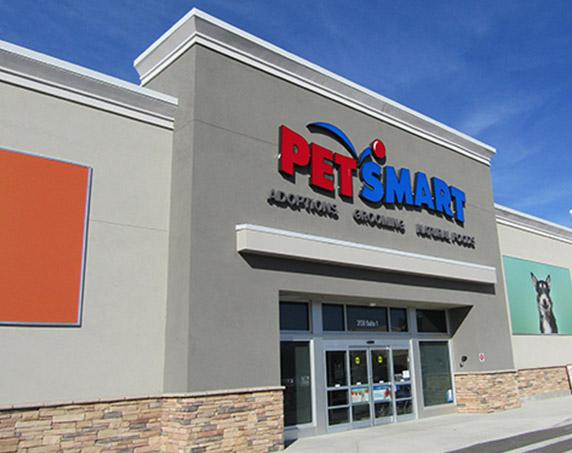PetSmart storefront in Woodlands Square