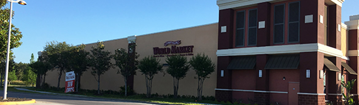 Exterior of Cost Plus World Market structure