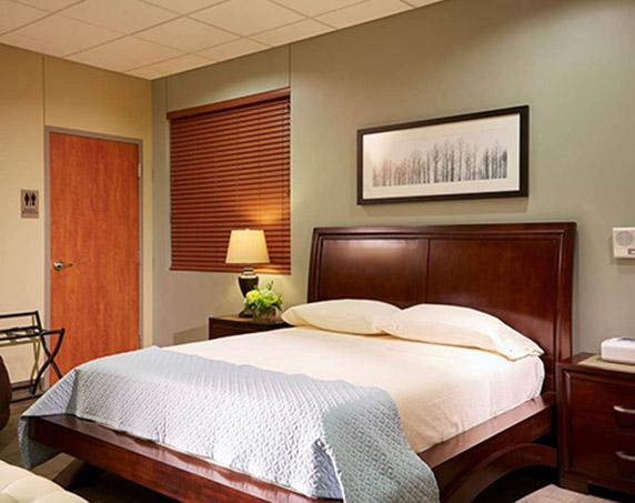 Interior sleep room