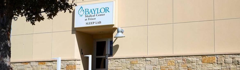 Exterior of Baylor Sleep Lab