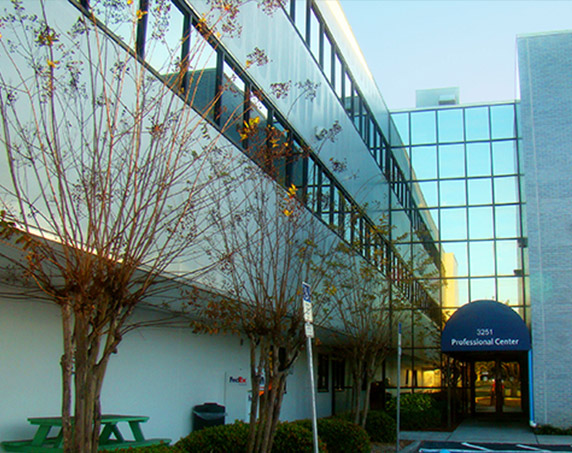 Exterior professional center building