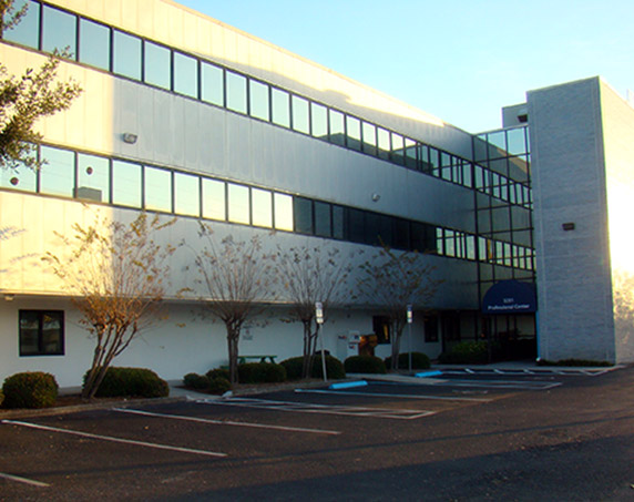 Exterior view of mease professional building