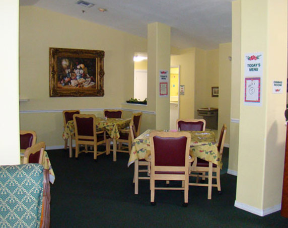 Interior sitting room view