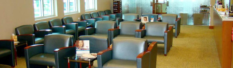 Interior office patient waiting room