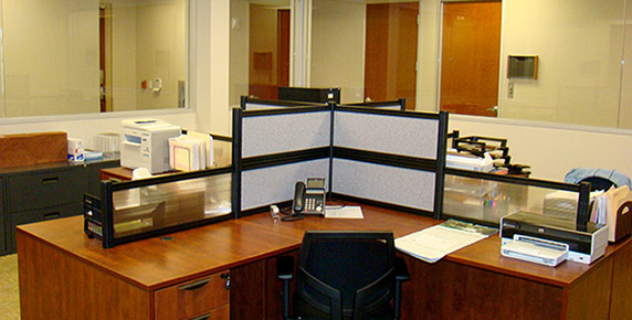 Interior staff office area