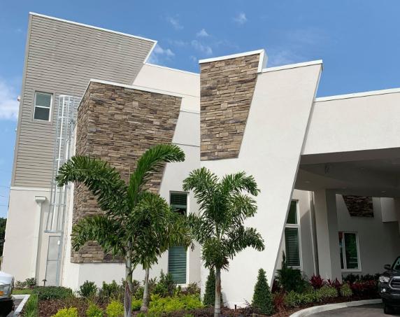 Front Exterior Brick